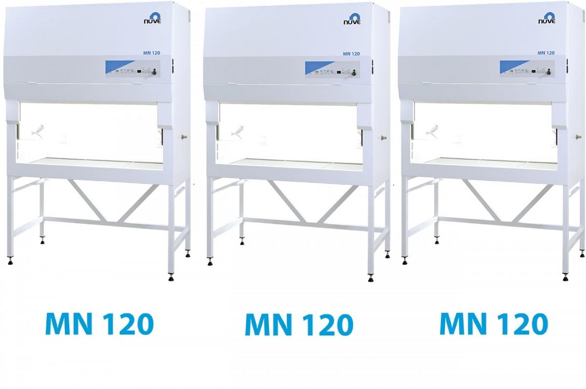 MN 120 tủ an toàn sinh học nuve