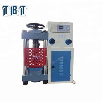 Sản phẩm Mô Hình TBTCTM-2000 (N) Max. Công Suất (kN) 2000 Phạm Vi đo (kN) 0 ~ 2000 Sai số tương đối ± 1% Kích thước của platens (mm) 220*280 Max. khoảng cách giữa trên và dưới trục lăn (mm) 330 Max. du lịch của ram (mm) 40 Đường kính của ram (mm) φ250 Đánh giá áp lực (Mpa) 40 Điện (kW) 220VAC