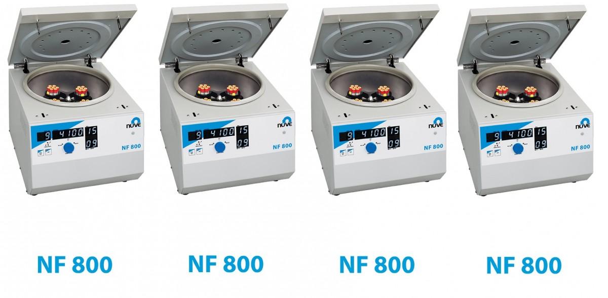 THIẾT BỊ LY TÂM NF800 NUVE