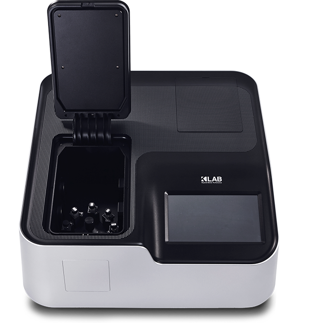 Optizen Alpha is a double beam spectrophotometer