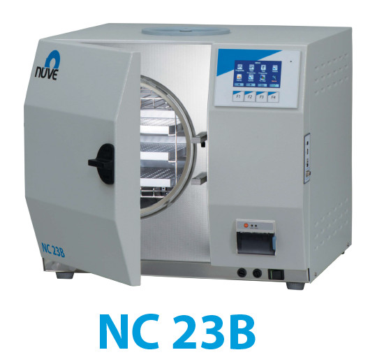 NC 23B / 23S / 32S Benchtop Steam Sterilizers