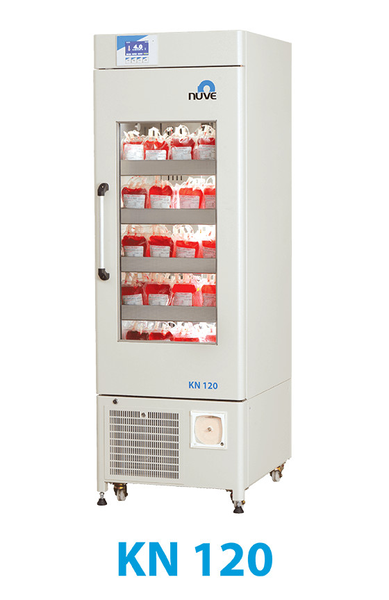 Tủ trữ máu nuve KN 120